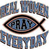 Real Women Pray Everyday Chrisian T-Shirt Item# C104 by Mychristianshirts on Etsy