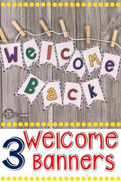 Welcome your students back to school with these fun and colorful editable back to school pennant banners. Elementary Art Rooms, Elementary Teacher, Elementary Schools, School Classroom, Classroom Decor, Classroom Organisation, Classroom Resources, Classroom Management, Back To School Bulletin Boards
