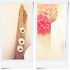 Drift wood toilet paper holder