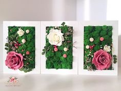 Moss Wall Art, Moss Art, Moss Garden, Outdoor Wedding Decorations, Backdrops, Gift Wrapping, Crafty, Frame, Prints