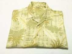 Tommy Bahama XXL Men's Silk Short Sleeve Floral Camp Shirt 2XL Hawaiian #TommyBahama #ButtonFront