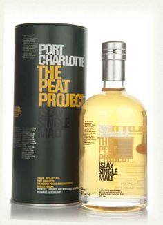 Port Charlotte Peat Project  peaty and smooth, but octomore 5 yrs even more so
