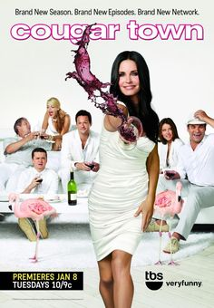 Cougar Town - A recently divorced woman decides to find some excitement in her dating life.