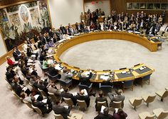 Reunión del Consejo de Seguridad de Naciones Unidas, s. f.