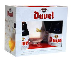 Duvel Gift Set with Glass