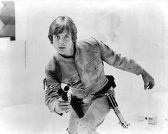 I don't know if this is a black and white photo or a meticulously detailed sketch, but either way, it's still a beautiful depiction of Luke Skywalker in Cloud City.