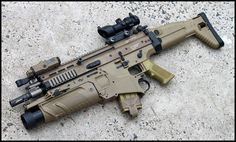 FN SCAR-L + FN40GL