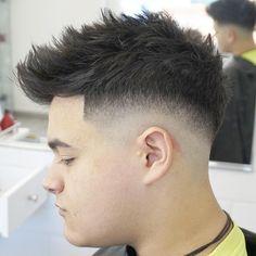 "223 Likes, 10 Comments - Alvaro Vargas Roso (@vargasbarbercutz) on Instagram: ""Trend Cutt#barbershop #barberskill #barberlife #faded #razor #shave #line #side #part #beard…"""
