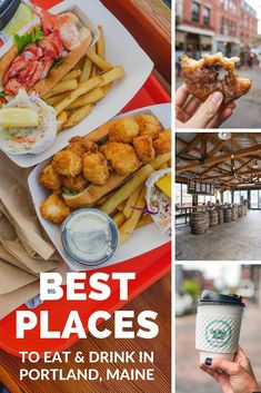 Looking for a delicious meal, sweet treat, or just a tasty beverage, here are the best places to eat and drink in Portland, Maine.