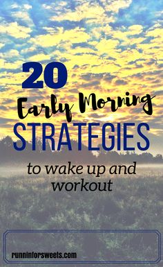 After years of failed attempts waking up early, I figured that I would never be someone who could workout in the morning. Finally, I found the motivation to give it one last shot and completed my workout at 4:30 am every day for a month. Here are the 20 strategies I used to make waking up early less miserable and finally create a habit #morningroutine #earlymornings #morningworkout