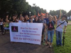 RISE FOR CLIMATE JUSTICE AND MOTHER EARTH - One Billion Rising Revolution