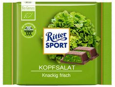 Ritter Sport Kopfsalat