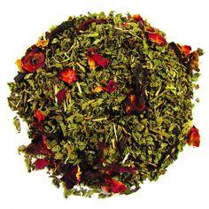 ... Leaf Tea Company Peppermint, hibiscus, and rose petals. #herbaltea
