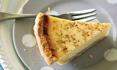 If you love old-fashioned desserts, then you'll love this classic custard tart recipe from CWA judge and MasterChef guest Merle Parrish, with crumbly, homemade pastry and a luscious vanilla-scented custard. Tart Recipes, Sweet Recipes, Real Food Recipes, Baking Recipes, Dessert Recipes, Yummy Food, Desserts, Baking Pies, Tasty