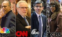 'I'm in a room full of liars': Trump reams execs and anchors from 'the dishonest media' at 'candid' meeting at Trump Tower that turned into a 'f****ng firing squad'