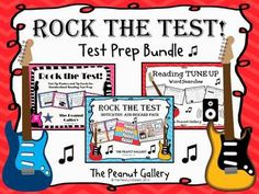 Hook kids into reading test prep for standardized testing with this Rock the Test bundle! The bundle features three of my motivational test prep packs at a discounted rate! ($)