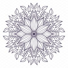Mandala Collection by ViSnezh on @creativemarket