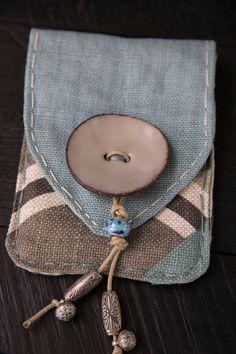 Belt Purse, Belt Pouch, Hip Purse, Cell Phone Pouch, Diy Phone Bag, Diy Bags Patterns, Handmade Purses, Handmade Fabric Bags, Hand Sewing Projects
