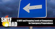 5 SHTF and Prepping Levels of Competency for Emergency Preparedness