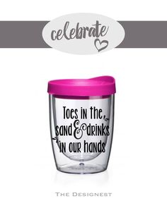 Bachelorette Party Cups | Toes in the Sand