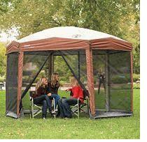 Abri Avec Filet Moustiquaire De Coleman Camping Projetos