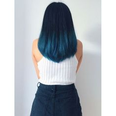 30 Blue Ombre Hair Color Ideas For Bold Trendsetters - Couleur Cheveux 02 Ombre Hair Color, Cool Hair Color, Blue Hair Colour, Ombre Style, Blue Style, Hair Colour Ideas, Blue Colors, Pastel Colors, Hair Color Tips