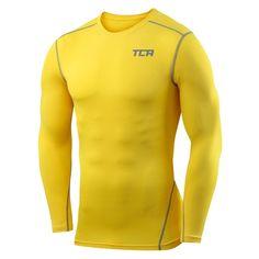 93e28b2aa TCA Men's & Boy's Pro Performance Compression Shirt Long Sleeve Base Layer  Thermal Top - Crew/Mock Neck
