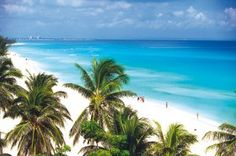 Varadero, Cuba. The most beautiful beaches. Been a few times and can't wait to go back.