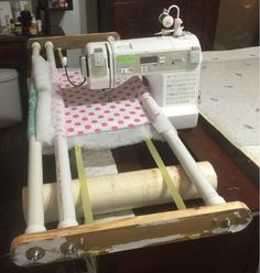 Vera's Custom Quilts: DIY Free Motion Quilting Frame