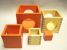 Creative Playthings Nested Wooden Blocks Set Made in Finland | eBay listing by tealt