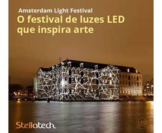 """Light Festival. Amsterdam, uma das cidades mais procuradas no verão europeu, agora também surpreende e encanta durante o inverno. É com as temperaturas baixas que acontece a 3ª edição do """"Amsterdam Light Festival"""", um evento ao ar livre no centro histórico, onde por mais de 50 dias a cidade fica repleta de esculturas de luz LED, projeções e instalações. O festival enfatiza a sustentabilidade, por isso, optam por utilizar o LED, trazendo inovações em tecnologia e ações para a economia de…"""