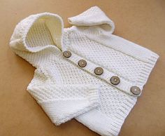 Ravelry: Baby Cardigan and Hooded Jacket pattern by OGE Knitwear Designs