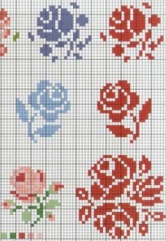 Embroidery stitches simple crossstitch 46 ideas for 2019 Mini Cross Stitch, Simple Cross Stitch, Cross Stitch Rose, Cross Stitch Samplers, Cross Stitch Flowers, Cross Stitching, Cross Stitch Embroidery, Embroidery Patterns, Embroidery Alphabet