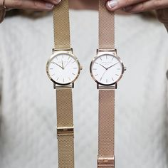 Gold or Rose Gold for today? > https://www.rosefieldwatches.com/nl/horloges.html