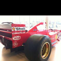 Formula One Ferrari. Formidable. Elegant. ...and designed in Britain by British engineers.
