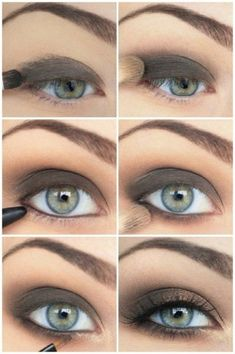 MAKE-UP:: EYE EFFECTS ~~ Fantastic! Tutorials for classic smokey eye with variations, natural eye looks, beautiful colors & more. -- Top 10 Best Eye Make-Up Tutorials of 2013 @Alana Sigmon Adams Inspired