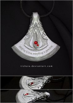 Assassin's Creed Pendant by tishaia