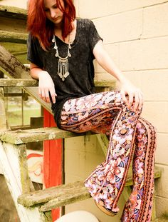#printed pants = comfort + style http://xwalker.com/