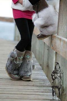 Best boots I've ever owned!  Manitobah Mukluk love