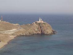 Faro de Cabo de Gata en Níjar, Andalucía