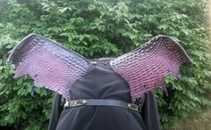 Check out this item in my Etsy shop https://www.etsy.com/listing/465099788/costume-dragon-or-demon-leather-wings