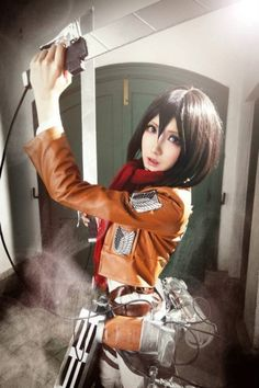 amazing anime cosplay | Amazing Attack On Titan Cosplay Pictures by King X Mon