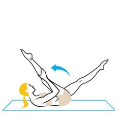 4 Pilates Moves for Lower Abs. The lower abs are the hardest! These are great!
