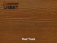 Looking for a stain look on fiber cement siding to make it look like real wood? This is our Red Teak stain and it can be applied to Hardie Cedarmill Lap siding for a great custom siding look for a custom home.