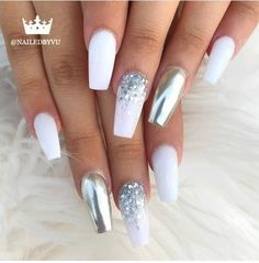 ✔ 33 Trendy Coffin Nails Design Ideas 2019 I'm found chic and trendy coffin nail designs to inspire you! Here are Trendy Coffin Nails. Cute Acrylic Nails, Acrylic Nail Designs, Perfect Nails, Gorgeous Nails, Hair And Nails, My Nails, Wedding Nail Polish, Gel Nails At Home, Fire Nails