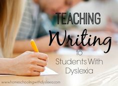 As with reading and spelling, teaching kids with dyslexia to write can be done and done well with the right methods!