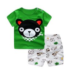 ad5cced0ce4 HH Baby boy clothes 2017 baby summer clothing Short-sleeved Casual Children  print cartoon Shirt · Baby Outfits NewbornBaby ...