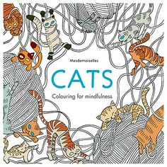Cat Coloring Books for Adults Do you love cats? Do your cats like to sit on your lap. well then coloring books are perfect for you. My cats are really enjoying this new hobby of mine. Colouring Pages, Coloring Books, Colouring Pencils, Cat Colors, Colours, Son Chat, Mademoiselle, Buy A Cat, Shopping