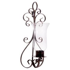 Found it at Wayfair - Pear Glass Candle Wall Sconce (Set of 2)