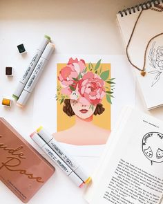 Awakening Art Print by ginnykz Flat Lay Photography, Art Photography, Gouche Painting, Art Room Posters, Watercolor Beginner, Art Prompts, Aesthetic Painting, Guache, Flatlay Styling